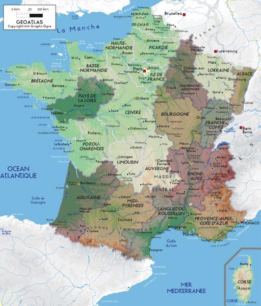 Cartina Francia Sud Dettagliata.Francia Offerte Di Lavoro Per Diversi Specialisti Fnomceo