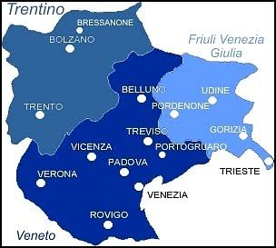 Italia Nord Est Cartina.Gli Ordini Del Veneto In Dialogo Per Offrire Servizi Migliori Fnomceo